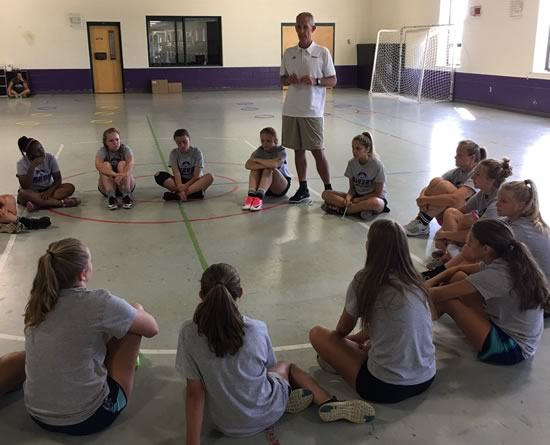Asbury Soccer Camp with Franklin Co