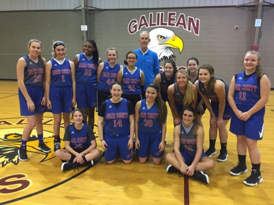 Adair County Girls Basketball Team